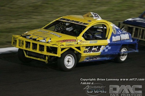 DMC Race Promotions Hot Rod and Stockcar Racing At Tullyroan Oval
